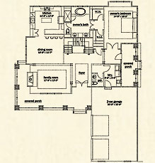 1st Floor Home Plans